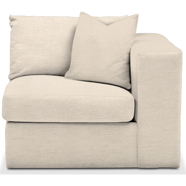 Living Room Furniture - Collin Right Arm Facing Chair- Comfort in Curious Pearl