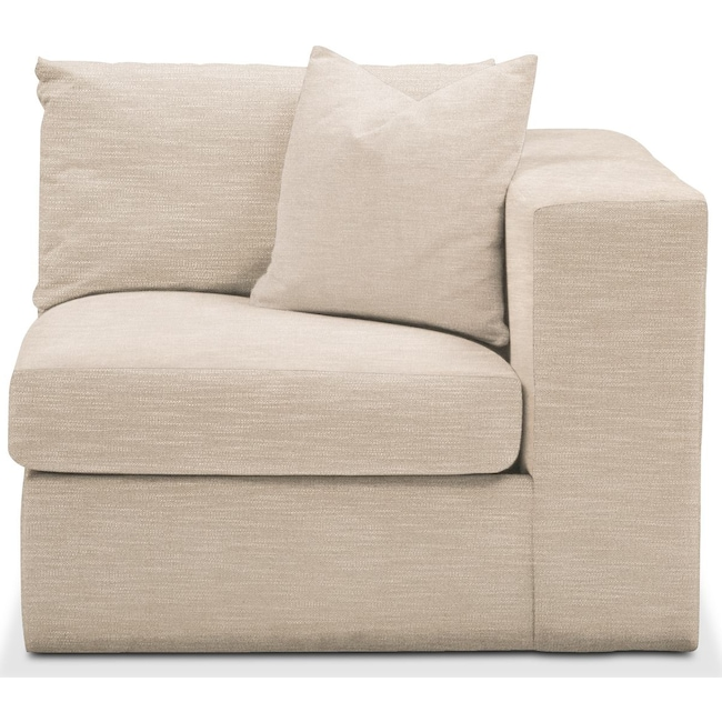 Living Room Furniture - Collin Right Arm Facing Chair- Comfort in Dudley Buff
