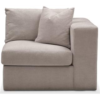 Collin Right Arm Facing Chair- Comfort in Abington TW Fog