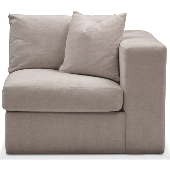 Living Room Furniture - Collin Right Arm Facing Chair- Comfort in Abington TW Fog
