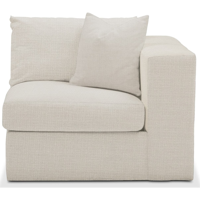 Living Room Furniture - Collin Right Arm Facing Chair- Comfort in Anders Ivory