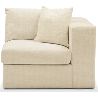 Collin Right Arm Facing Chair- Comfort in Anders Cloud