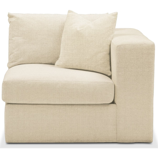 Living Room Furniture - Collin Right Arm Facing Chair- Comfort in Anders Cloud
