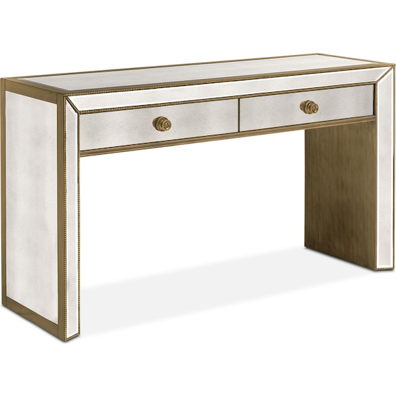 The Reflection Occasional Table Collection Antiqued