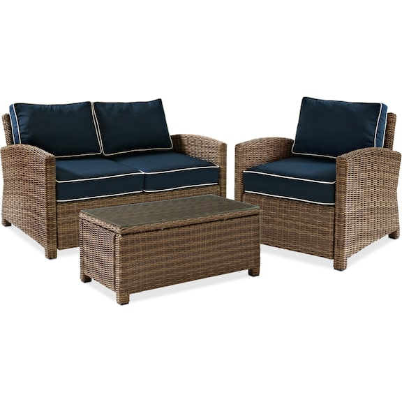 The Destin Collection Blue Value City Furniture And Mattresses