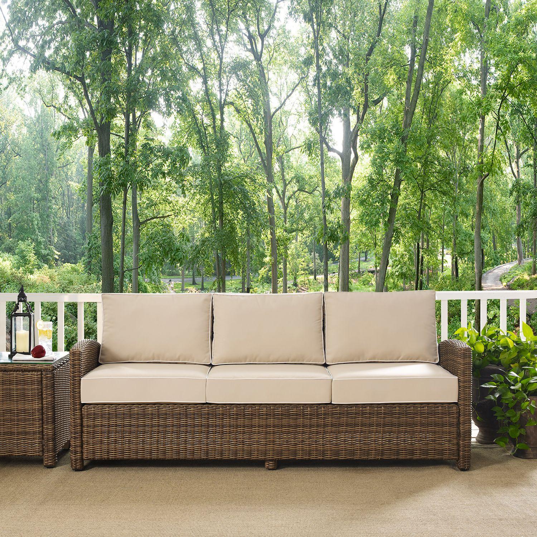 Outdoor Furniture   Destin Outdoor Sofa   Sand