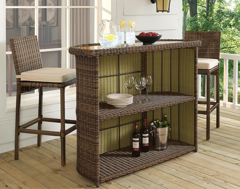 The Destin Outdoor Bar Collection