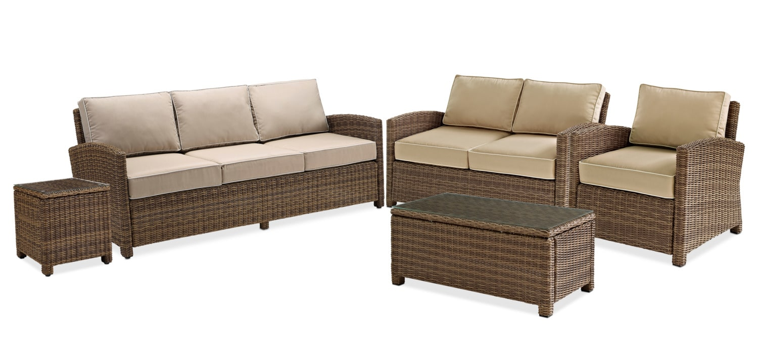The Destin Collection Sand Value City Furniture And Mattresses