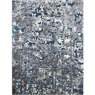 Napa Area Rug - Blue and Gray