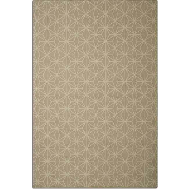 Broadway 5 X 8 Area Rug Beige And Ivory Value City Furniture