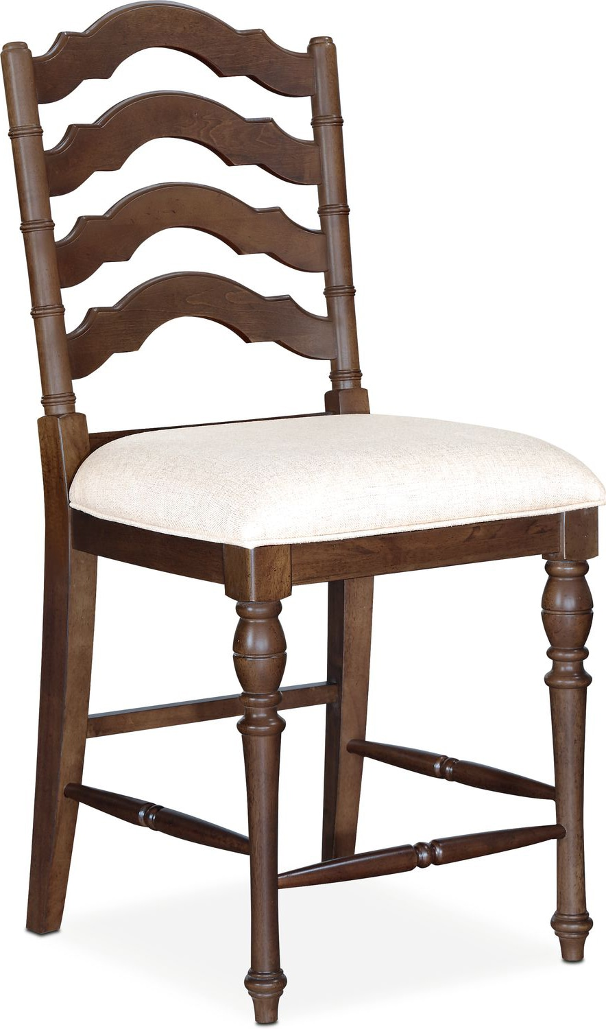 Charleston Counter Height Stool Tobacco Value City Furniture And Mattresses