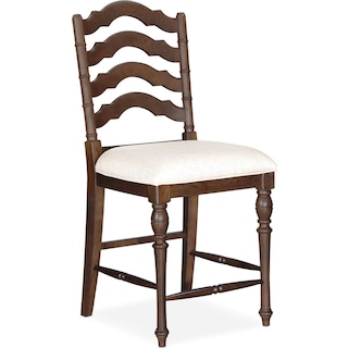 Charleston Counter-Height Stool - Tobacco