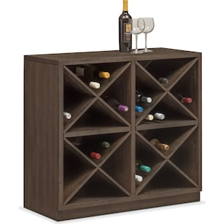 Malibu Wine Cabinet - Umber