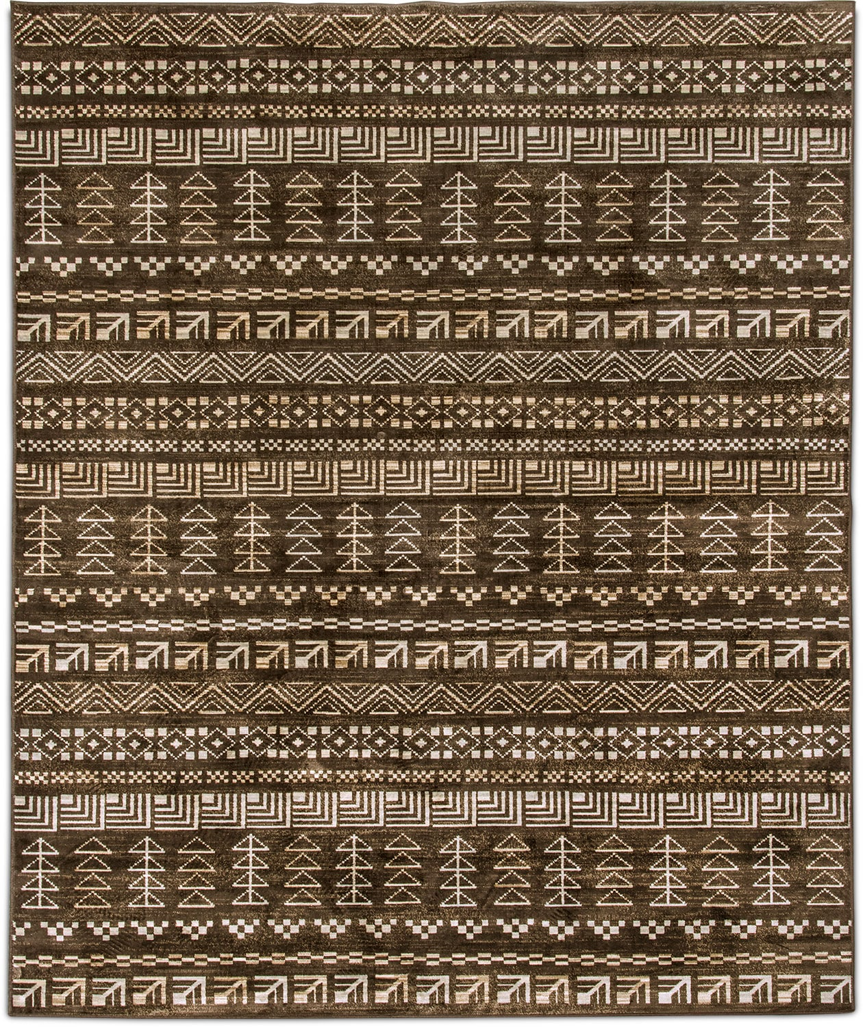 Rugs - Sonoma Area Rug - Brown and Ivory