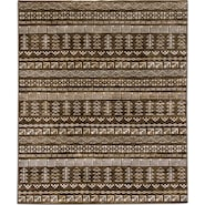 Sonoma Brown/Ivory 5x8 Area Rug