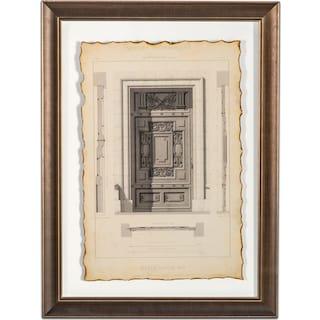 Historical Motif Framed Print IV