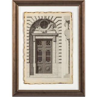 Historical Motif Framed Print
