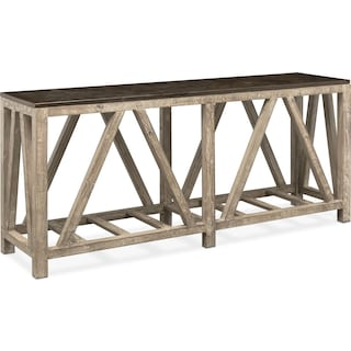Grandin Sofa Table - Brown