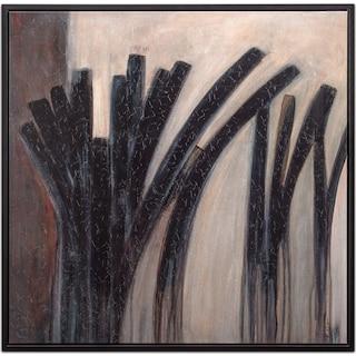 Black Licorice Framed Print
