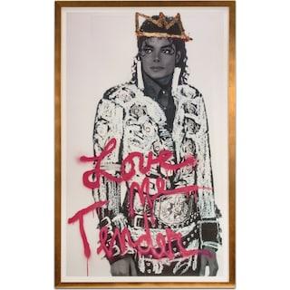 Michael Jackson Framed Print
