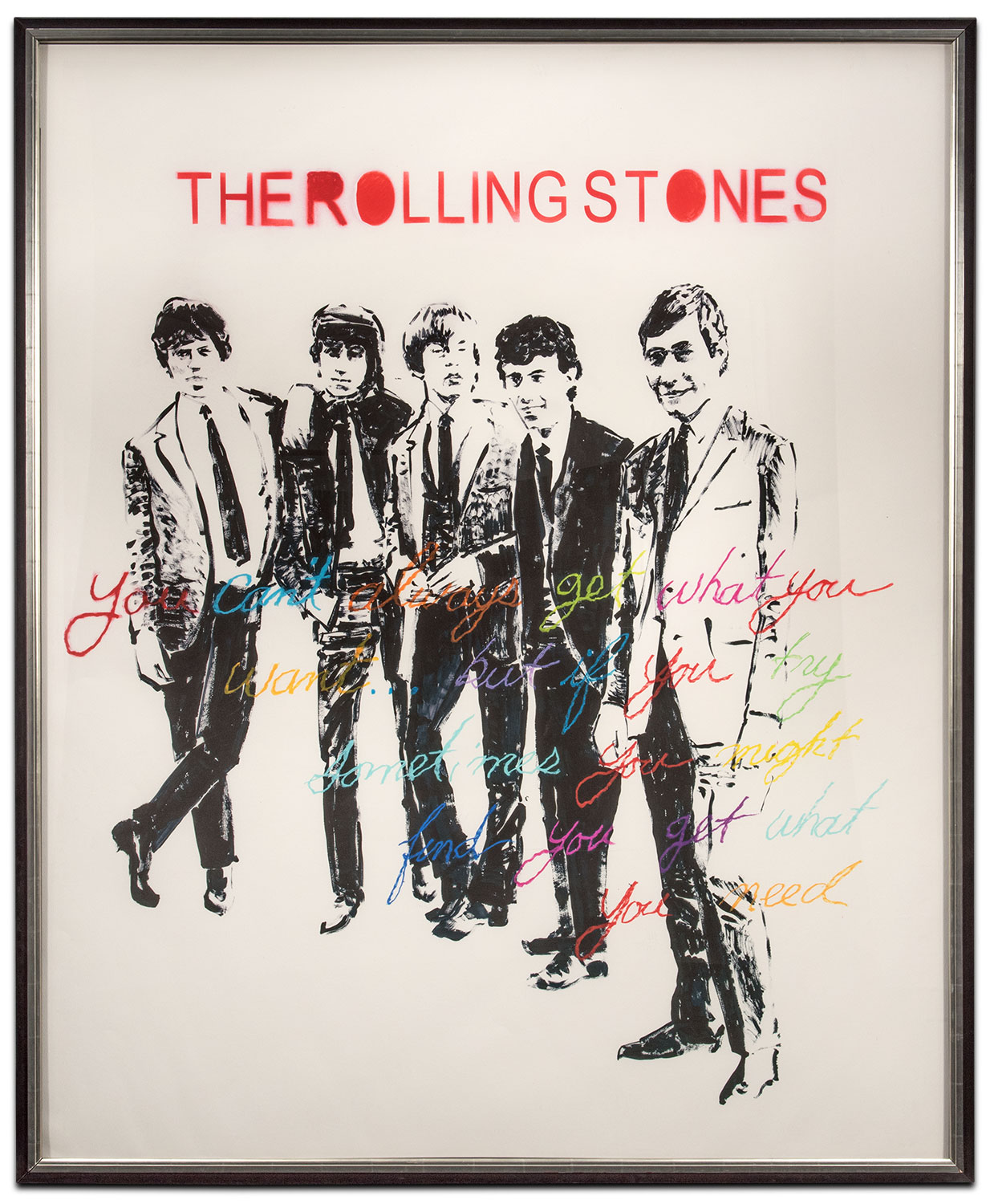 The Rolling Stones Framed Print Value City Furniture And