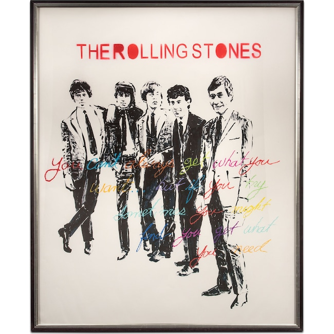 Home Accessories - The Rolling Stones Framed Print