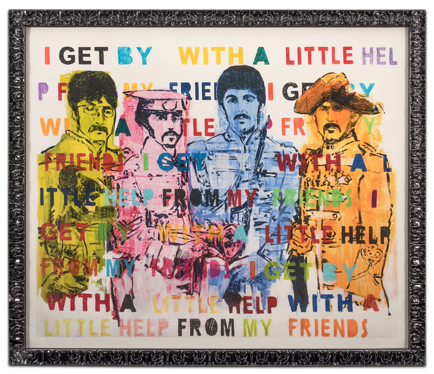 Home Accessories - The Beatles Framed Print
