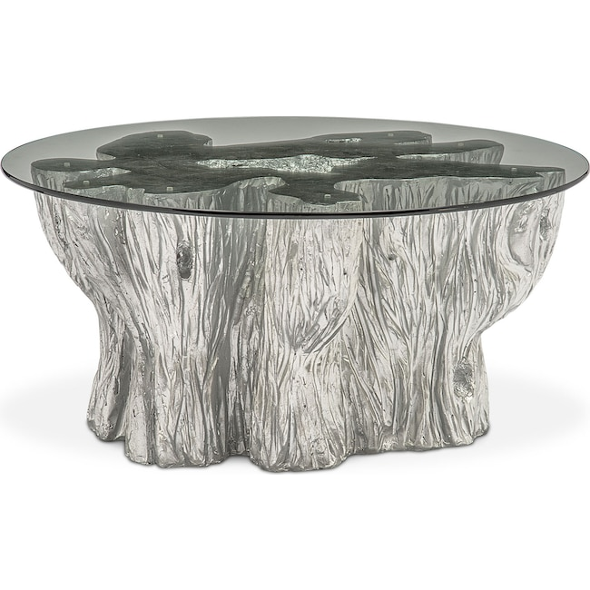 Accent And Occasional Furniture Natura Coffee Table Silver