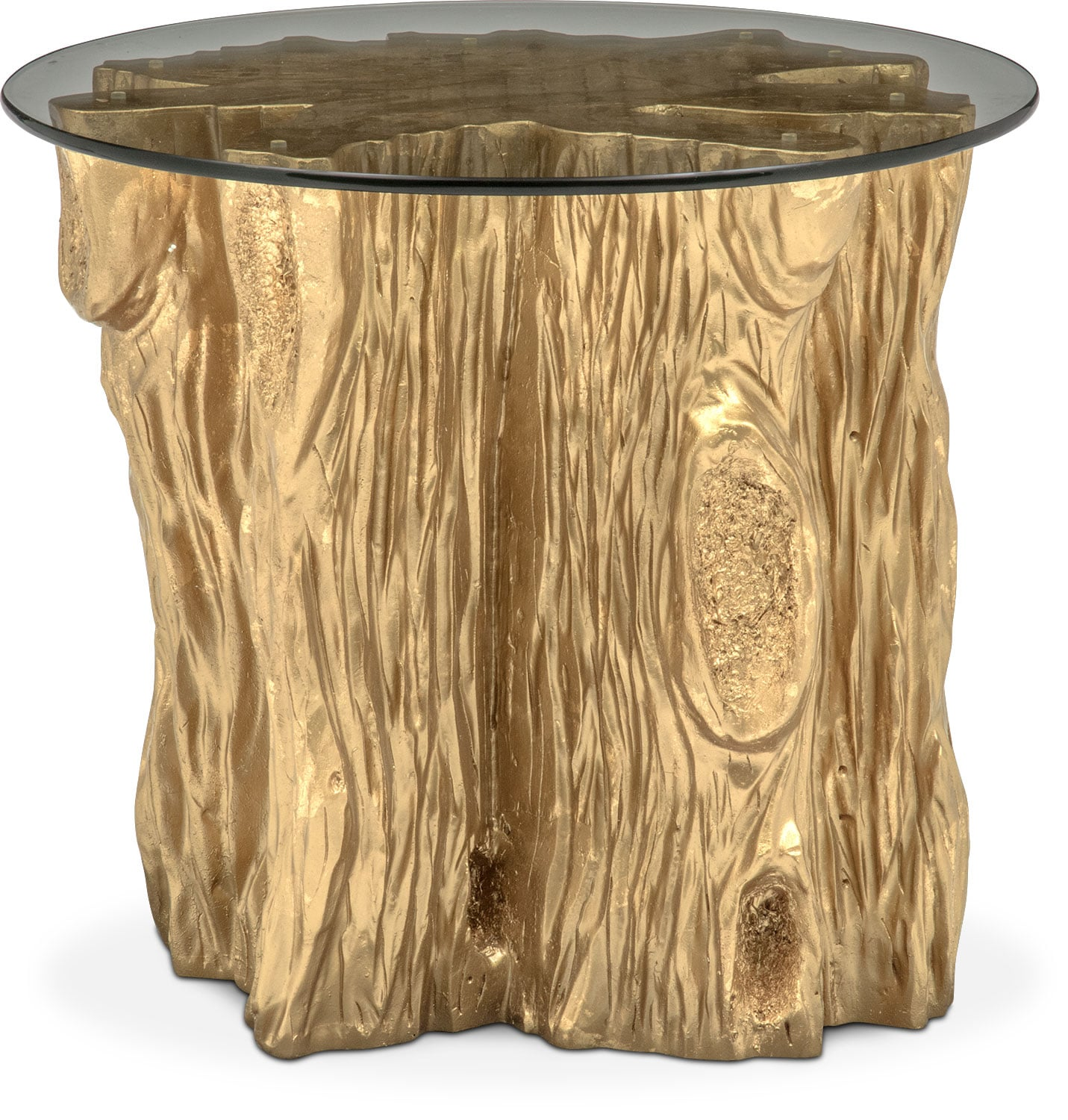 Superior Accent And Occasional Furniture   Natura End Table   Gold