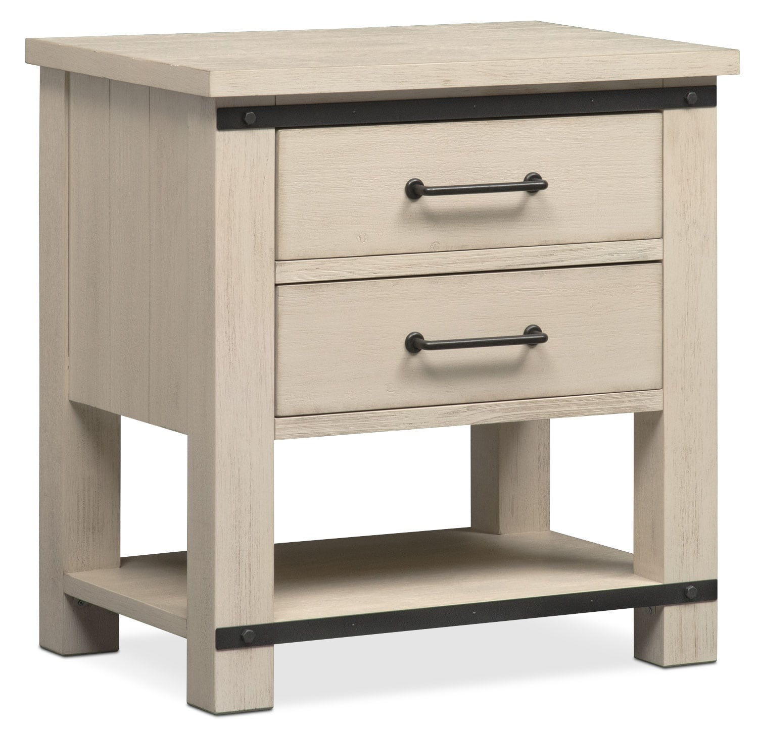 founders mill nightstand white