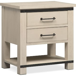 Founders Mill Nightstand - White