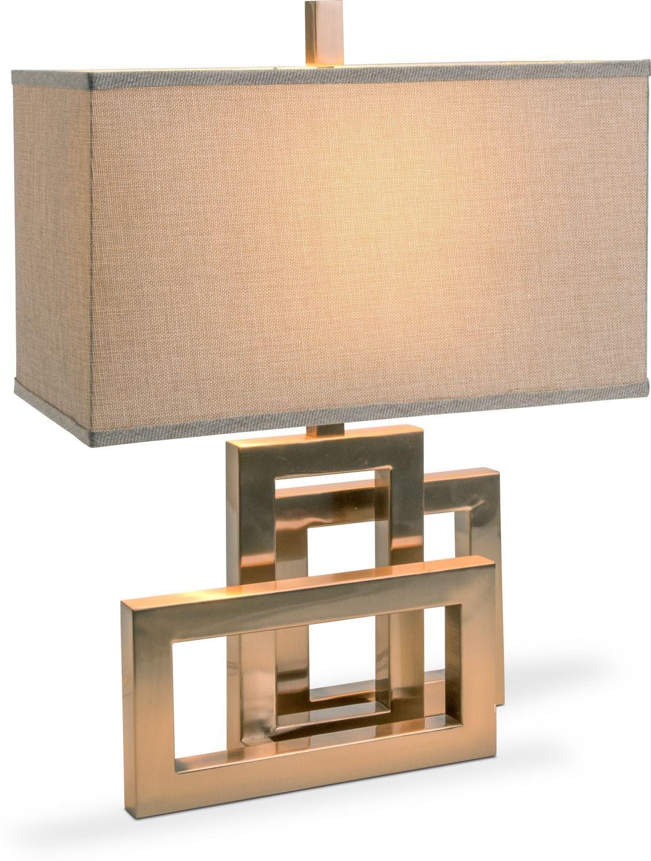 niccolo table lamp | value city furniture