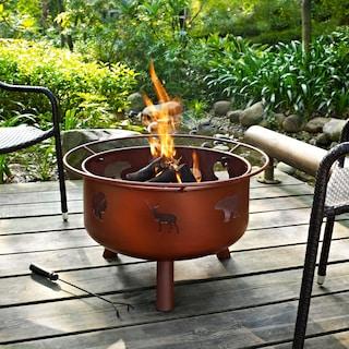 Woodbury Fire Pit - Rust