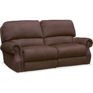 Dartmouth 2-Piece Power Reclining Sofa - Mocha
