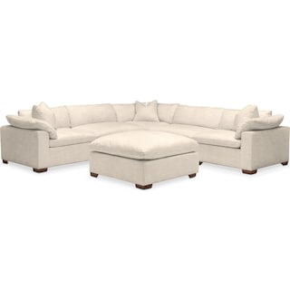 Plush 6 Pc. Sectional- in Curious Pearl