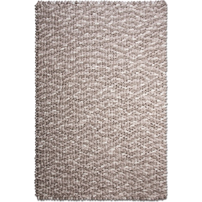 Rugs - Plush Chamois Area Rug - Rain Cloud