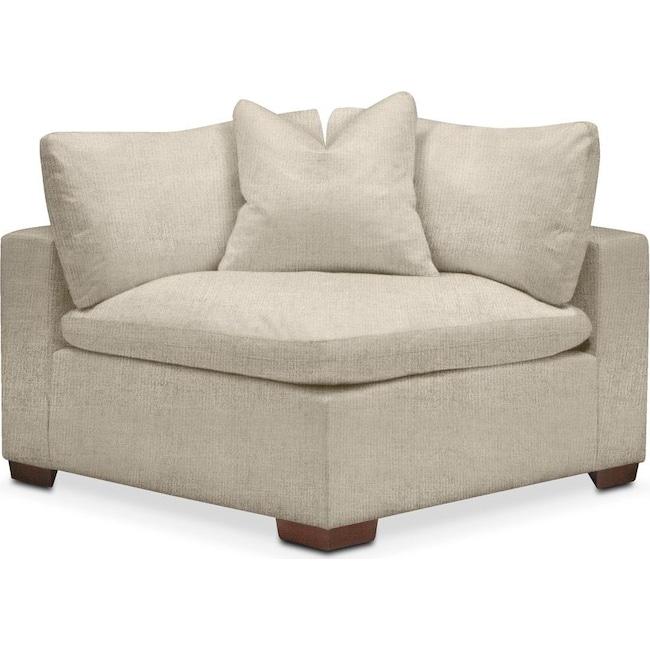 Living Room Furniture - Plush Corner Chair- in Abington TW Barley