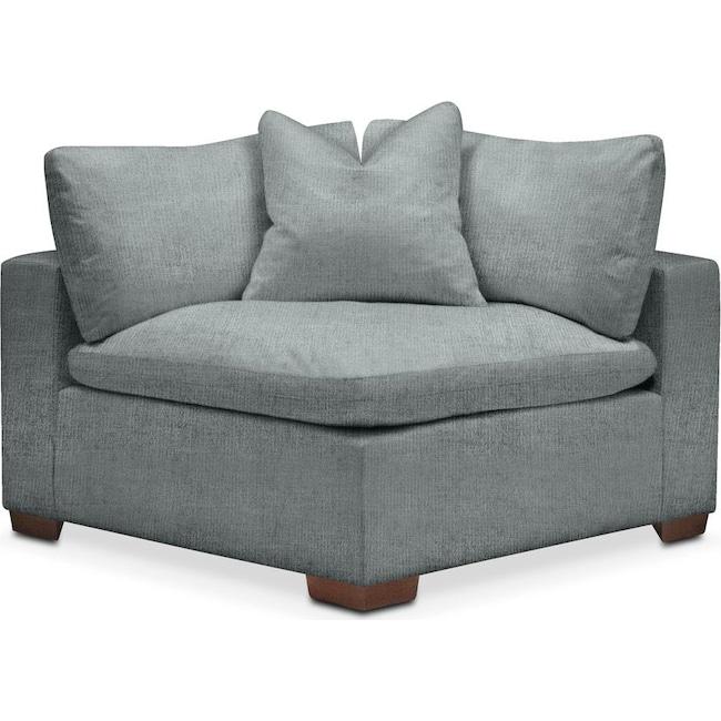 Living Room Furniture - Plush Corner Chair- in Abington TW Seven Seas