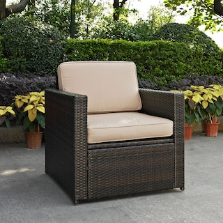Aldo Outdoor Chair - Brown