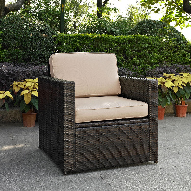 Superieur Aldo Outdoor Chair   Brown
