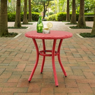 Aldo Outdoor Café Table - Red