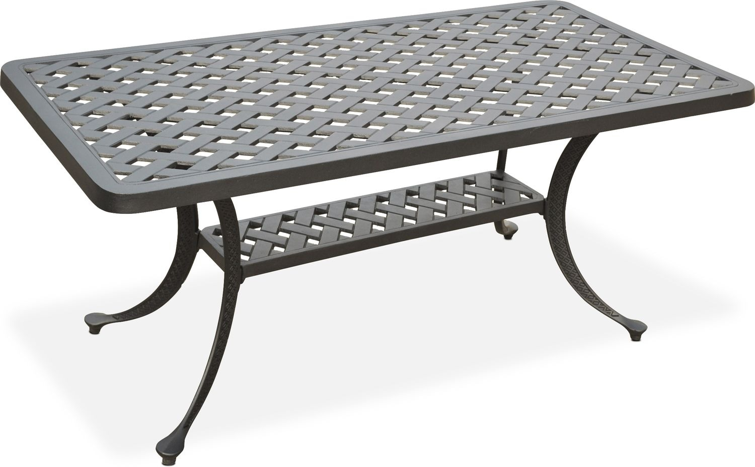 Outdoor Furniture - Hana Outdoor Coffee Table - Black