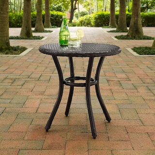 Aldo Outdoor Café Table - Brown