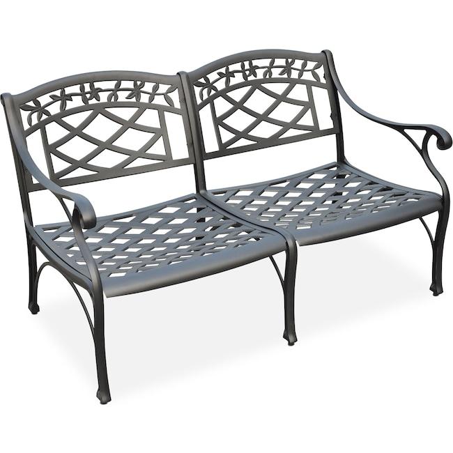 Outdoor Furniture - Hana Outdoor Loveseat