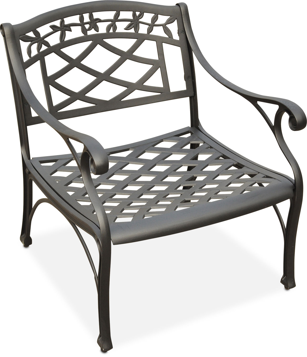 Charmant Outdoor Furniture   Hana Outdoor Chair   Black