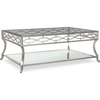 Galleria Cocktail Table - Chrome