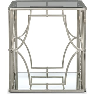 Galleria End Table - Chrome