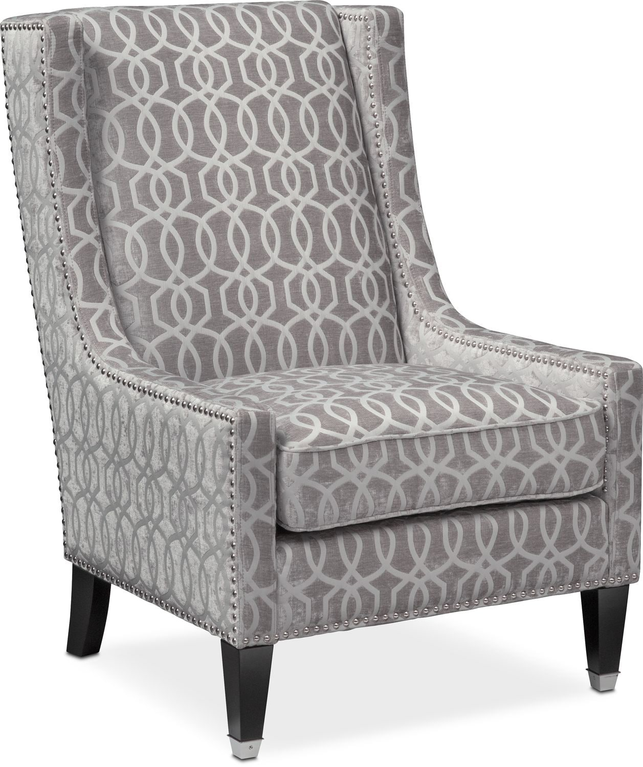 Accent Chairs.Venn Accent Chair Gray