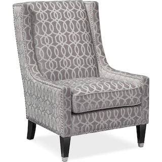 Venn Accent Chair - Gray