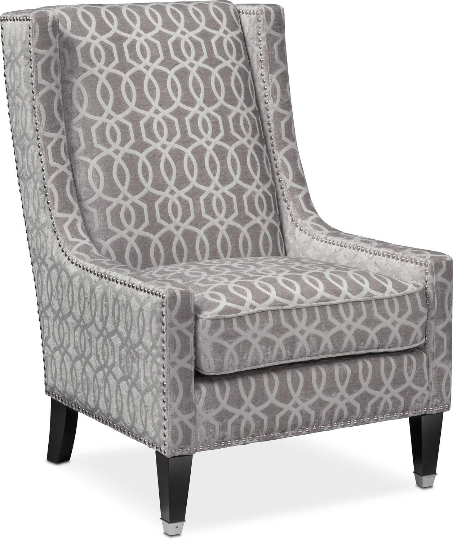 Etonnant Living Room Furniture   Venn Accent Chair   Gray ...